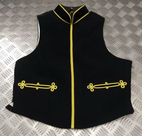 British Army Rlc Royal Logistique Corps Officer`S Mess Robe Bavoir Gilet