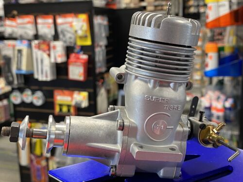 Super Tigre G.71 Rear Carb Saturno RV/RC Airplane Engine NEW IN BOX Very Nice!