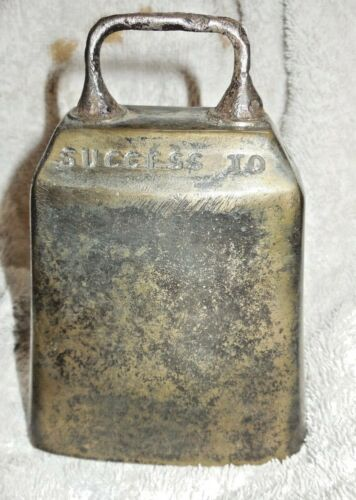 Success to the Horse Teams Cow bell - excellent condition