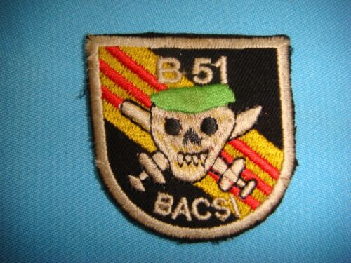 VIETNAM WAR BERET PATCH, US 5th SPECIAL FORCES SFOD B-51 BAC SI