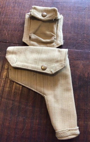 Australia WW2 Patt 37 Small Frame Holster And Ammo Pouch
