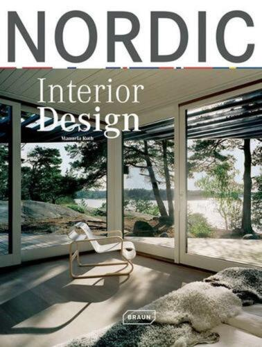 Nordic Interior Design by Manuela Roth (English) Hardcover Book Free Shipping!