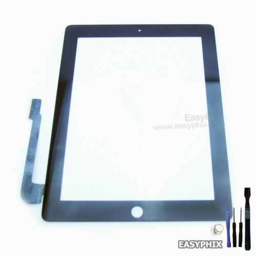 Digitizer Glass Touch Screen Replacement for iPad 3 4 WIFI & 3G Black