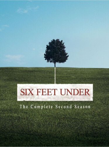 EX RENTAL SIX FEET UNDER DVD SEASON TWO (2) 5 DISC TV SERIES WITHOUT SLEEVE GUAR