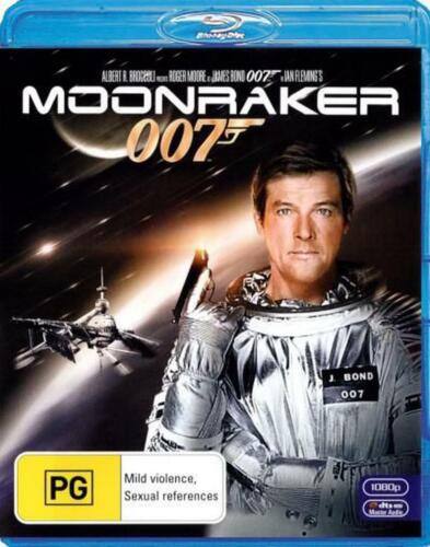 Moonraker (2012 Re-release) - Blu Ray Region B Free Shipping!