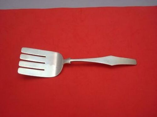 """Pattern Unknown by Porter Blanchard Sterling Silver Asparagus Fork 10"""""""