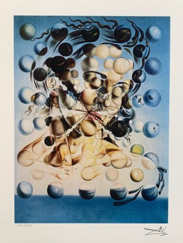 Salvador Dali GALATEA OF THE SPHERES Facsimile Signed & Numbered Giclee Art