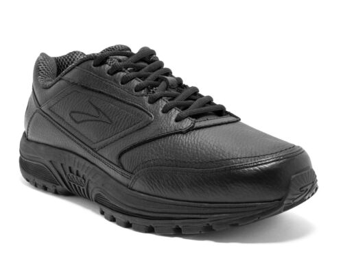 Brooks Dyad Walker Mens Leather Shoes (IDEAL FOR ORTHOTICS) + FREE DELIVERY