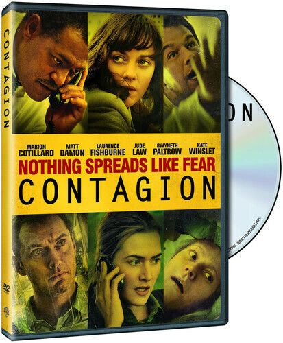 Contagion (2013, DVD NEW)