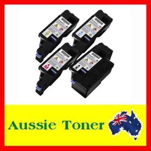 4x Compatible Toner Cartridge For Dell C1660w C1660 C1660cnw 1660cnw