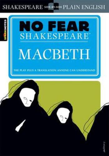 Macbeth (No Fear Shakespeare) by William Shakespeare (English) Paperback Book Fr