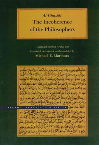 The Incoherence of the Philosophers by Al-Ghazali (Arabic) Hardcover Book Free S