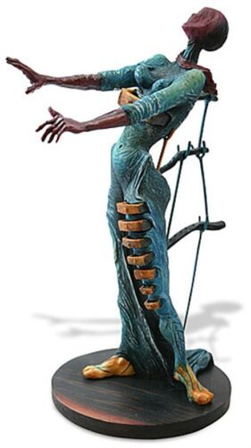NEW SALVADOR DALI Woman Drawers SCULPTURE STATUE Figurine