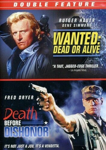 Wanted: Dead or Alive/Death Before Dishonor (2011, DVD NEW)