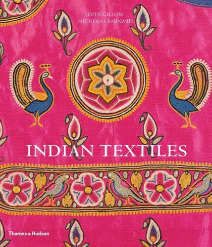 Indian Textiles by John Gillow (English) Paperback Book Free Shipping!
