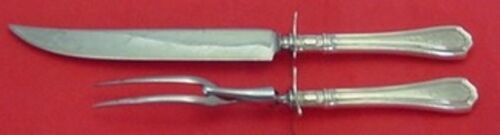 Hepplewhite Engraved by Reed & Barton Sterling Silver Roast Carving Set 2pc