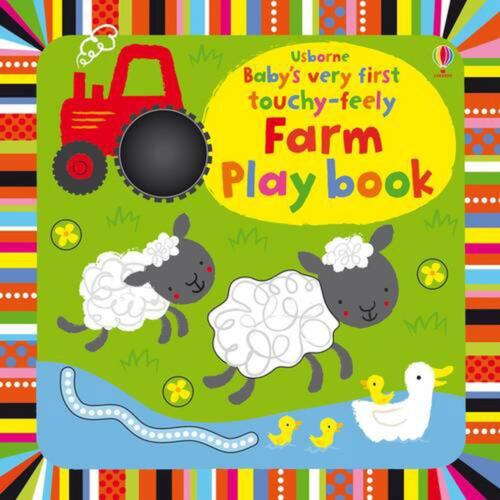 Baby's Very First Touchy-Feely Farm Playbook by Fiona Watt Board Books Book Free