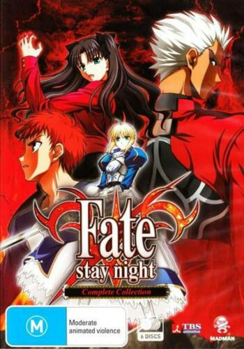 Fate / Stay Night - Complete Collection (6 Discs) - DVD Region 4 Free Shipping!
