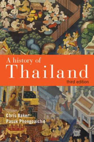 A History of Thailand by Chris Baker (English) Paperback Book Free Shipping!