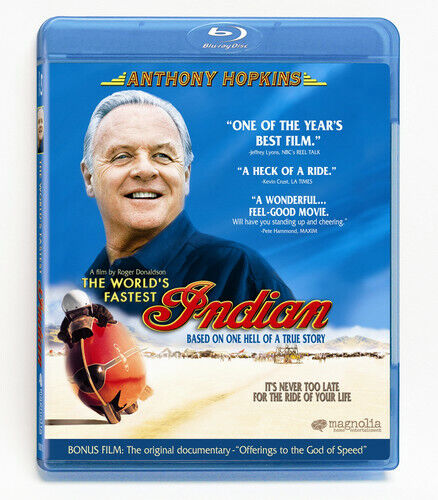 World's Fastest Indian (2007, Blu-ray NEW)