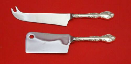 MELROSE BY GORHAM STERLING SILVER CHEESE SERVER SERVING SET 2PC HHWS CUSTOM MADE