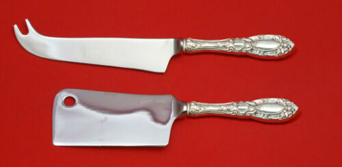 King Richard by Towle Sterling Silver Cheese Server Serving Set 2pc HHWS  Custom
