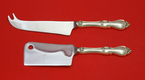 Queen Elizabeth I by Towle Sterling Silver Cheese Serving Set 2pc HHWS Custom
