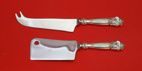 GEORGIAN BY TOWLE STERLING SILVER CHEESE SERVER SERVING SET 2PC HHWS CUSTOM MADE