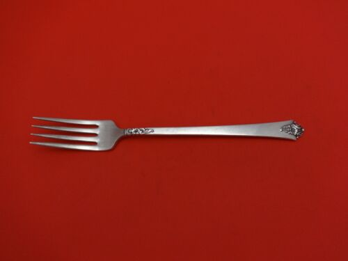 Castle Rose by Royal Crest Sterling Silver Grille Fork 7 5/8""