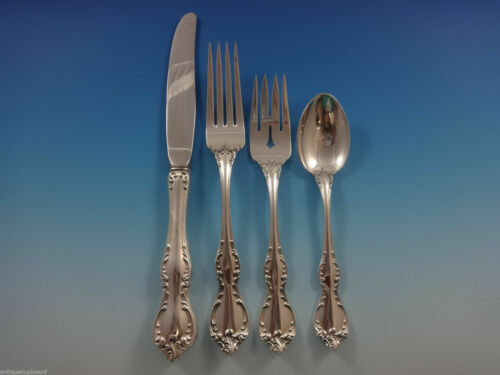 Debussy by Towle Sterling Silver Regular Size Place Setting(s) 4pc