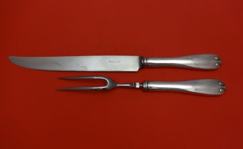 Flemish by Tiffany & Co. Sterling Silver Roast Carving Set 2pc HHWS