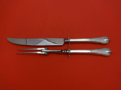 Grand Colonial by Wallace Sterling Silver Roast Carving Set 2pc HHWS