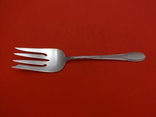"""Trousseau by International Sterling Silver Cold Meat Fork 9"""""""