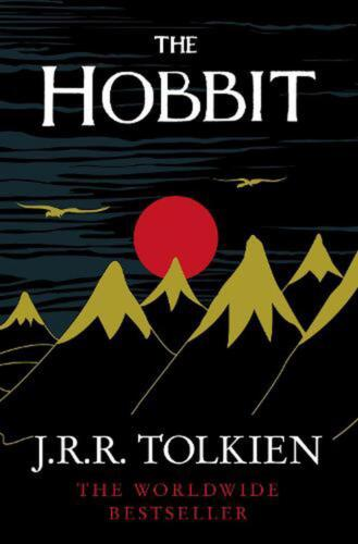 The Hobbit by J.R.R. Tolkien (English) Paperback Book Free Shipping!