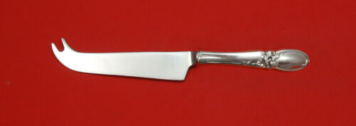 White Orchid by Community Plate Silverplate HHWS  Cheese Knife w/Pick Custom