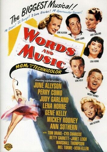 [DVD NTSC/1 NEW] WORDS AND MUSIC