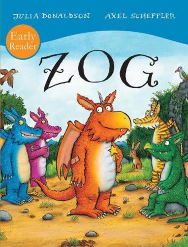 ZOG Early Reader by Julia Donaldson Paperback Book Free Shipping!