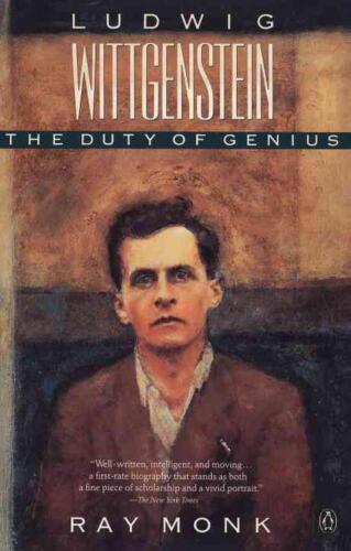 Ludwig Wittgenstein: The Duty of Genius by Ray Monk (English) Paperback Book Fre
