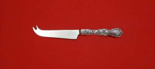 Floral by Wallace Plate Silverplate HHWS  Cheese Knife w/Pick Custom Made