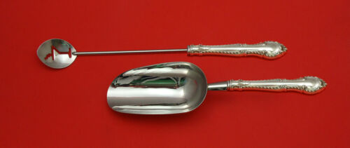 English Gadroon by Gorham Sterling Silver Bar Set 2pc HHWS  Custom Made