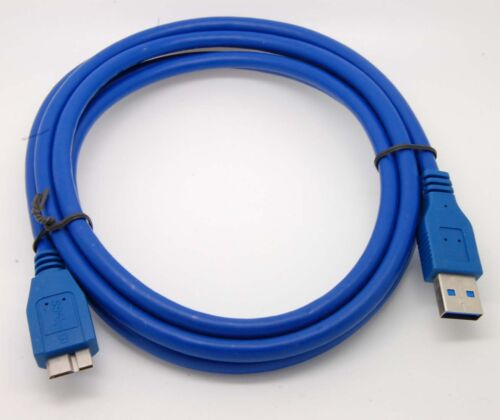 USB 3.0 PC Charger + Data SYNC Cable Cord For Sony HD-E2 B/S Portable Hard Drive