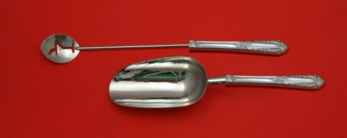 Inaugural by State House Sterling Silver Bar Set 2pc HHWS  Custom Made