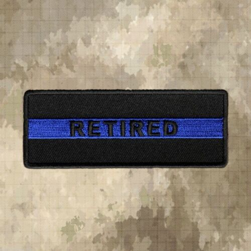 Thin Blue Line RETIRED Patch, Law EnforcementOther Militaria - 135