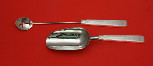 Old Lace by Towle Sterling Silver Bar Set 2pc HHWS  Custom Made