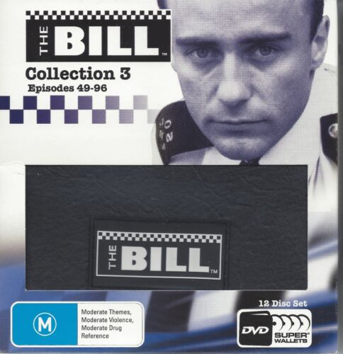 The Bill Collection 3, 4 & 5 {36 Disc} Episodes 49-192