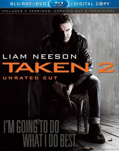 Taken 2 (Blu ray - Region A)