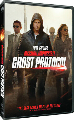 Mission: Impossible - Ghost Protocol (2012, DVD NEW)