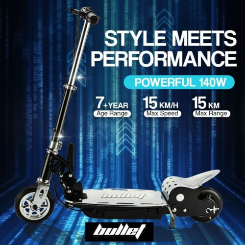 BULLET TRZ 140W Electric Scooter Adjustable and Foldable for both Adults / Kids <br/> 20% OFF. Must use Checkout Code PATRON20. Ends 29/10.