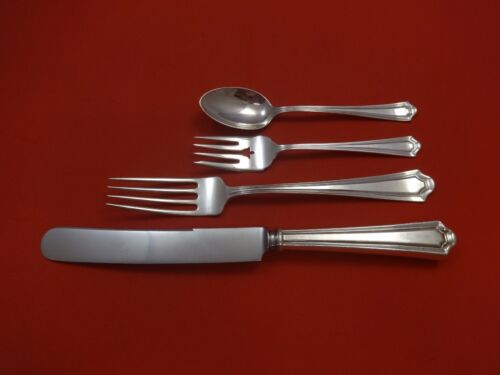 Mary Warren by Manchester Sterling Silver Dinner Size Place Setting(s) 4pc