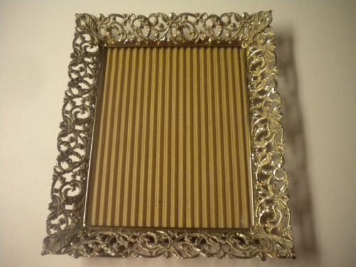 Vintage Whitewash & Floral Lace Picture Frame, 8 in. x 10 in., #2
